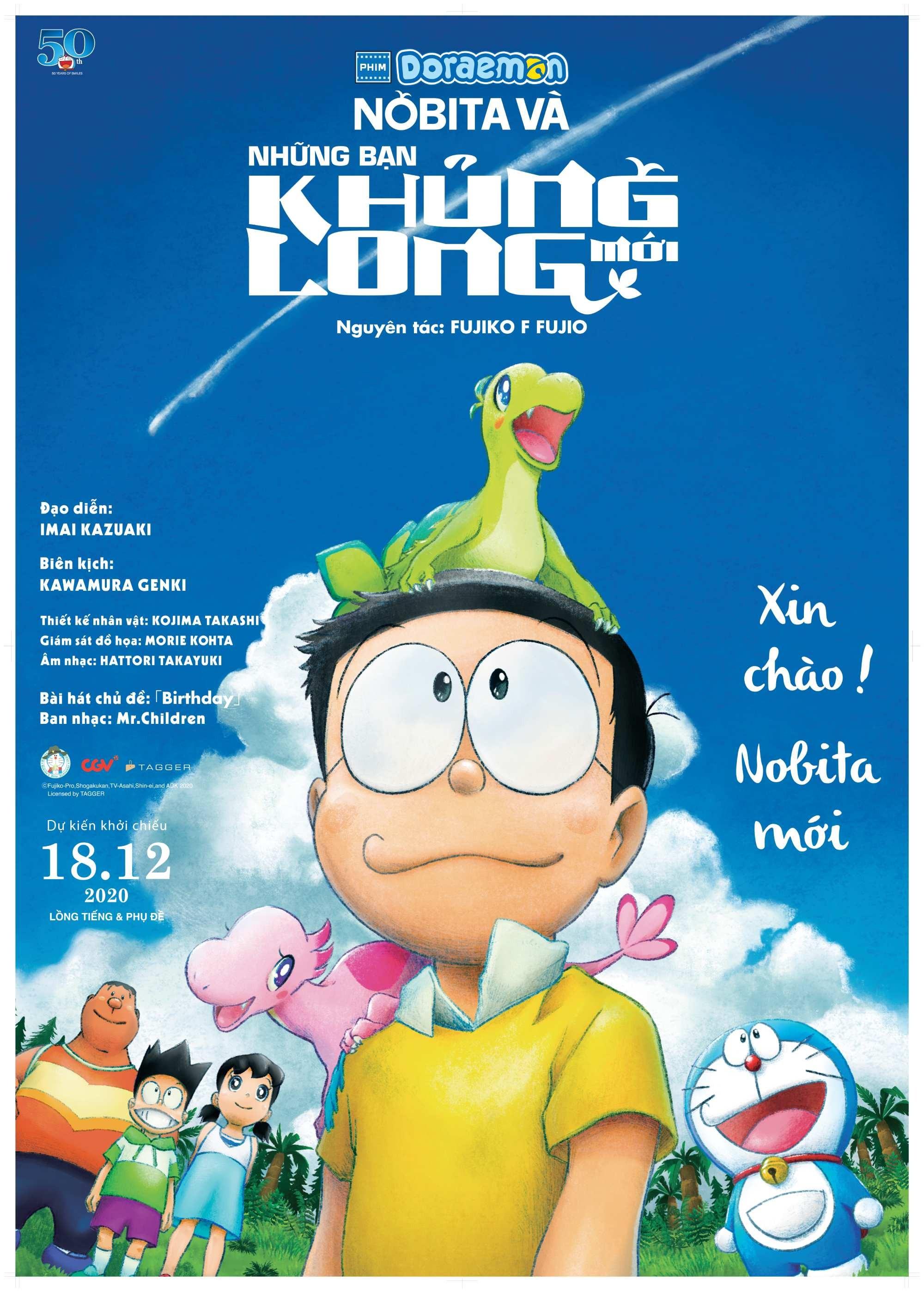 Phim mới Doraemon: Nobita Và Những Bạn Khủng Long Mới - ảnh 2.