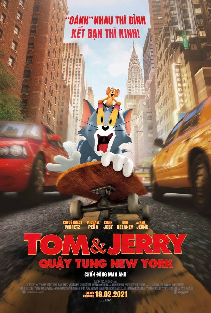 Tom & Jerry: Quậy tung New York
