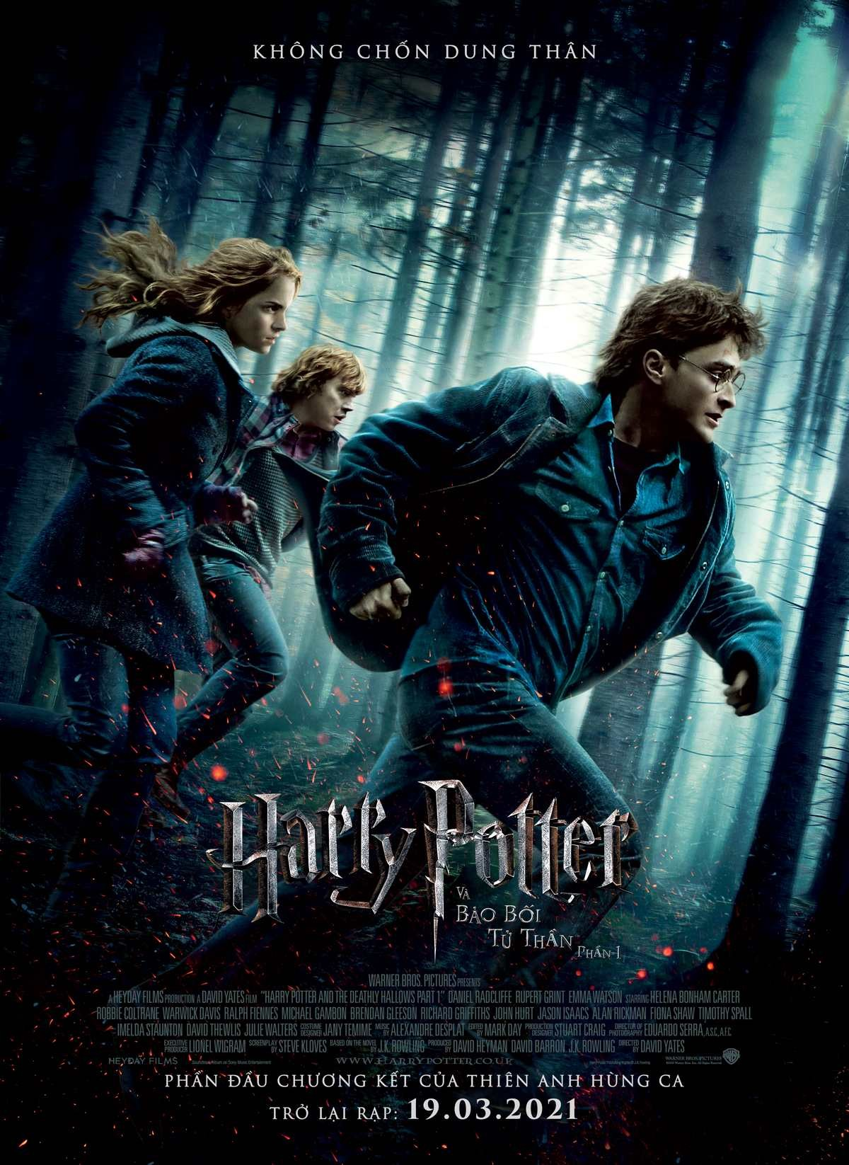 HARRY POTTER AND THE DEATHLY HALLOWS (Pt.1)